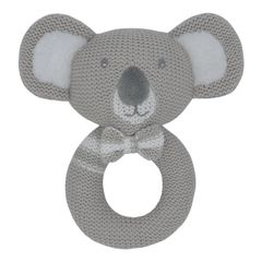 Knitted Rattle- Kevin the Koala