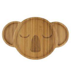 Bamboo Plate Karri the Koala