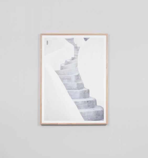 Sculptural Stairs Print