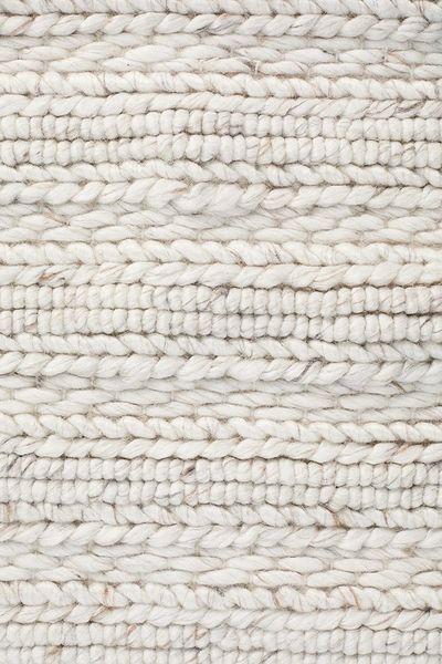 Harvest Rug- Ivory Wool