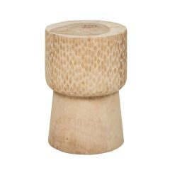 Woodland Carved Nancy Stool