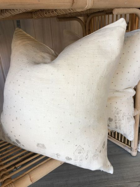 Village Linen Cushion