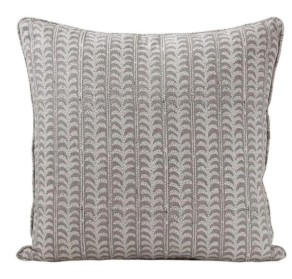 Luxor Mud Linen Cushion by Walter G