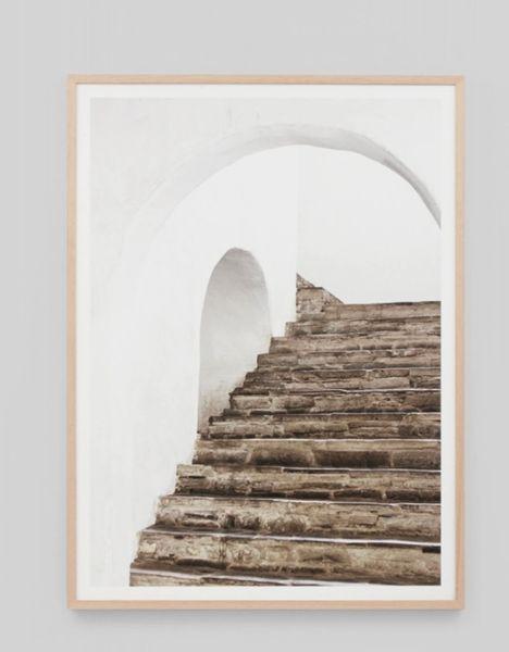 Villa Archway Framed Print