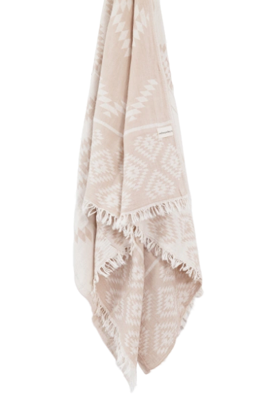 Aztec Turkish Towel- Sand