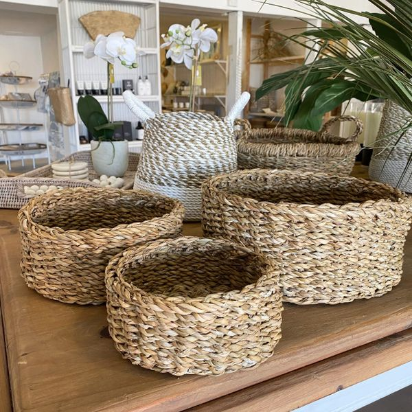 Low Line Seagrass Basket