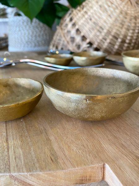 Organic Brass Bowl