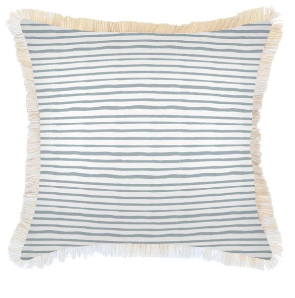 Outdoor Indoor Cushion- Paint Stripes