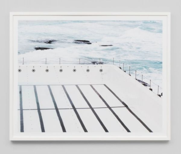 Empty Pool Framed Print