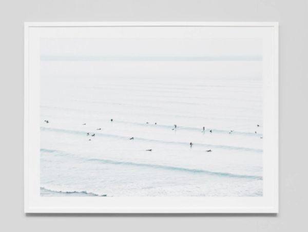 Gentle Waves Framed Print
