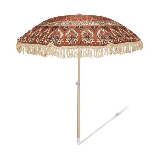Salty Shadows Beach Umbrella- Nomad