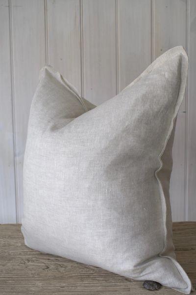 Provence 100% Linen Cushion- Natural