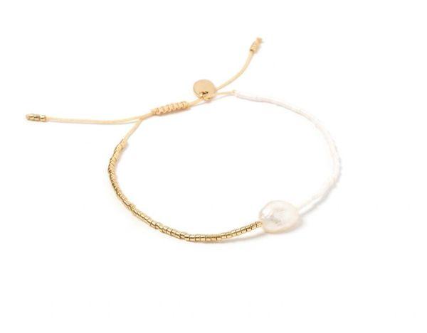 Matilda Pearl and Glass Bead Bracelet