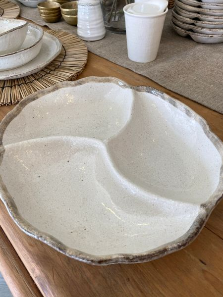 Shiro Ceramic Party Platter