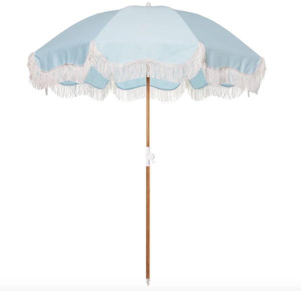 Beach Umbrella Santorini Blue by Business & Pleasure Co