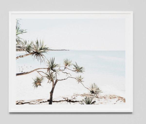 Northern Beach Framed Print
