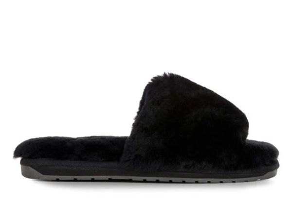 Emu Myna Slipper- Black