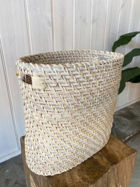 Rattan Basket Bin