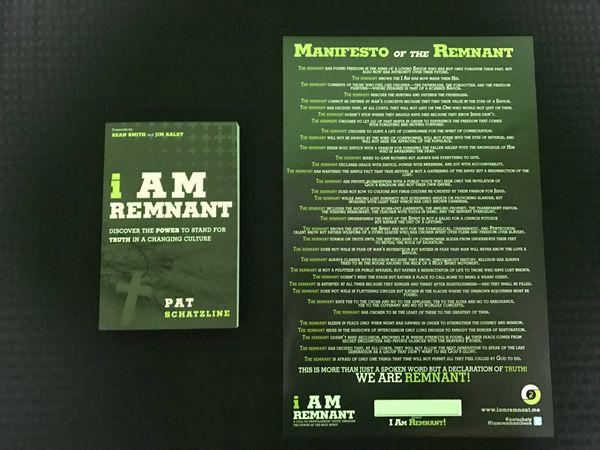 I Am Remnant Book & Poster