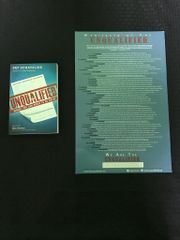 Unqualified Book & Poster