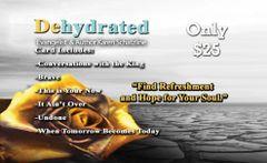 Dehydrated Digital Download Card