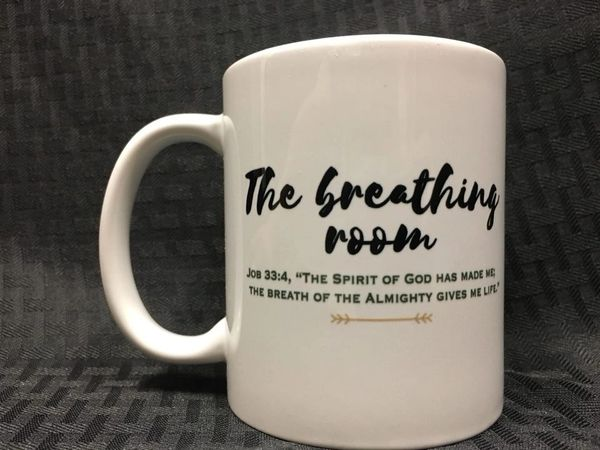 The Breathing Room Coffee Mug & Drop Card