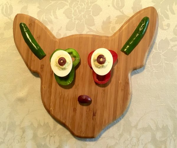Chihuahua Serving/Cutting Board