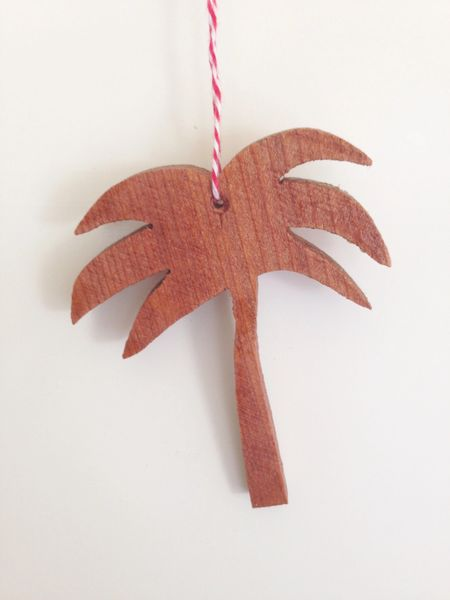 Palm Tree hanging Ornament