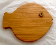 Fish Serving and Cutting Board