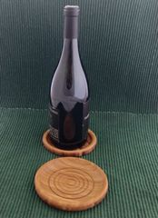 Bamboo Wine Bottle Coaster