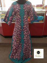 STONED ANKARA DRESS-29