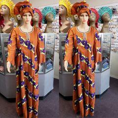 ANKARA DRESS-CLR4