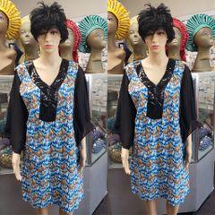 SHORT ANKARA DRESS-10