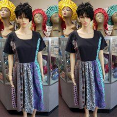 SHORT ANKARA DRESS-13