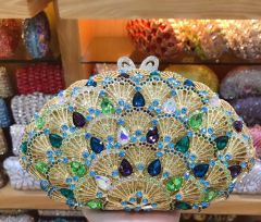 CRYSTAL CLUTCH PURSE-158