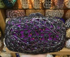 CRYSTAL CLUTCH PURSE-160