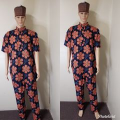 MEN ANKARA PANT AND TOP SET -05