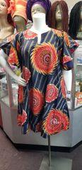 ANKARA SHIFT DRESS- 210