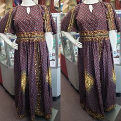 SPLIT ANKARA DRESS-212