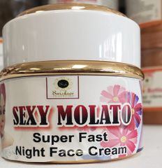 SEXY MOLATO SUPER FAST, NIGHT FACECREAM-50ML
