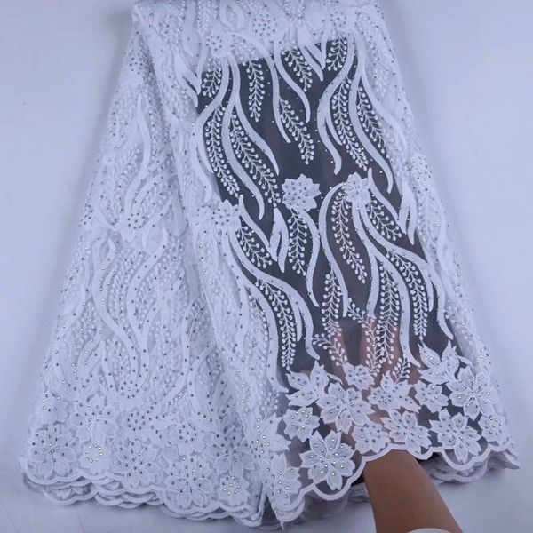 WHITE TULLE LACE-03