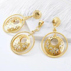 EARING AND PENDANT SET- 324