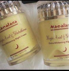 Macalana Kojic and Glutathione night face cream-80ML