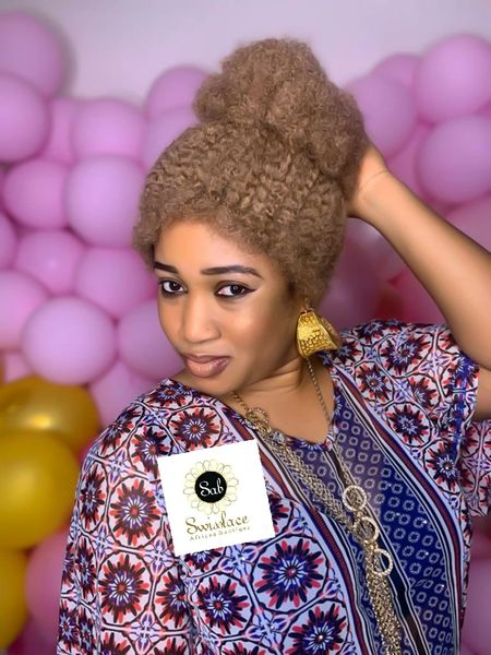 AFRO UPDO WIG-02