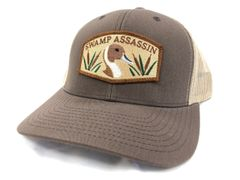 The Brown and Khaki Pintail Series Snapback