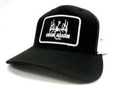 Black/White Ranch Series BaseballFit Snapback (Black/White Patch)