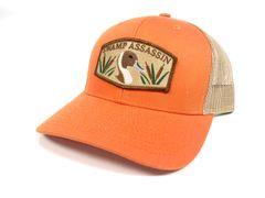 Orange & Khaki Pintail BaseballFit Snapback