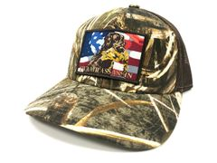 Swamp Assassin Realtree Max 5 Freedom Retriever Snapback