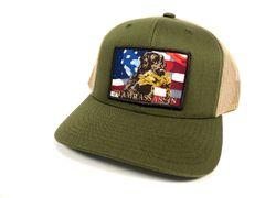New Green/Khaki Freedom Retriever Snapback