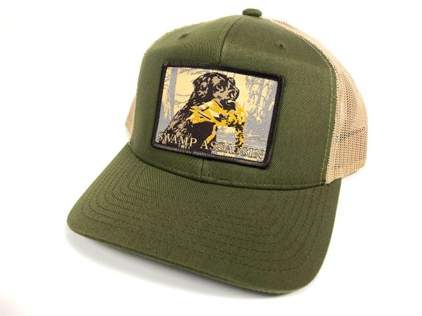 New Green/ Khaki Timber Retriever Snapback